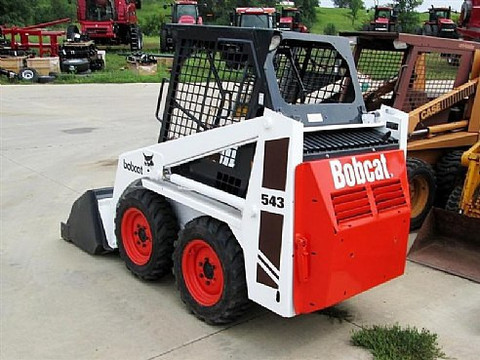 Bobcat 540, 543 and 543B Service (Workshop) Manual