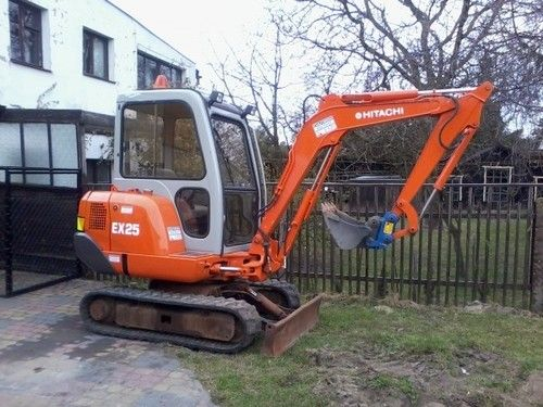 Hitachi EX25-2 Service Manual