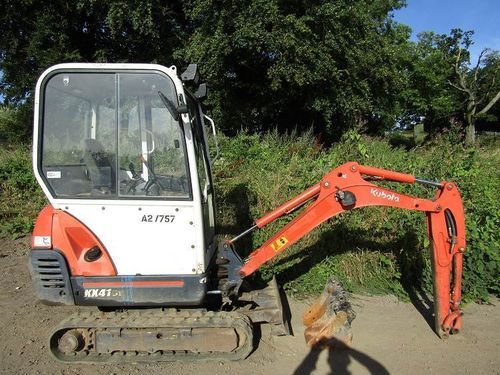 Kubota KX41-3 Operators Manual