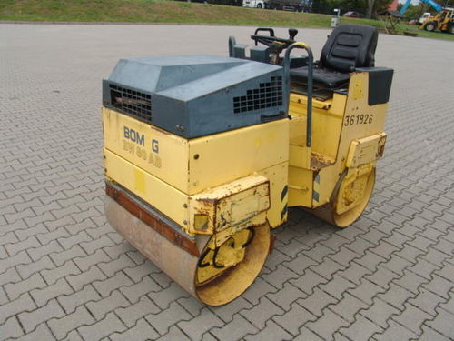 Bomag BW80 AD Roller Operators Manual