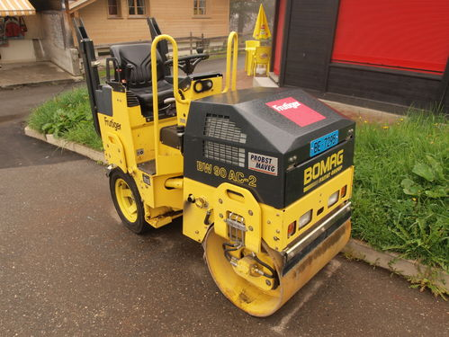 Bomag BW90 AC-2 Roller Operators Manual