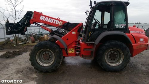 Manitou MLA 628 Operators Manual