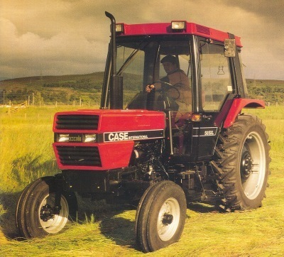 Case-IH 585 Tractor Service Manual