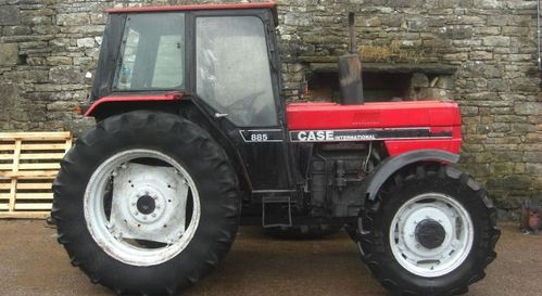 Case-IH 885 Tractor Service Manual