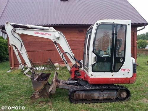 Takeuchi TB125 Operators Manual