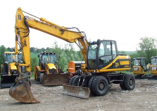 JCB JS130W Operators Manual