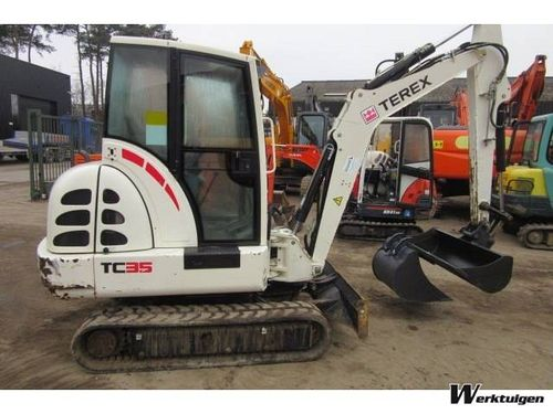 Terex TC35 Parts Manual