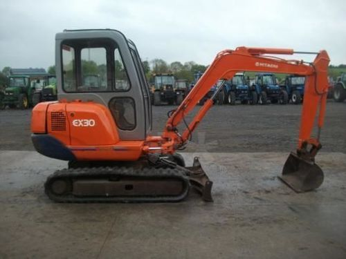 Hitachi EX30-2 Parts Manual