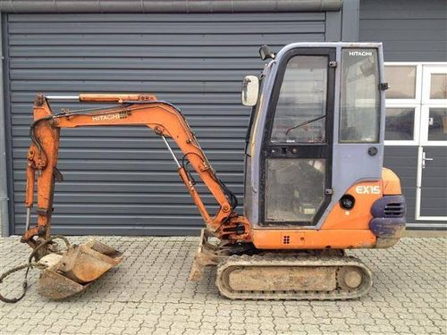 Hitachi EX15-2 Parts Manual