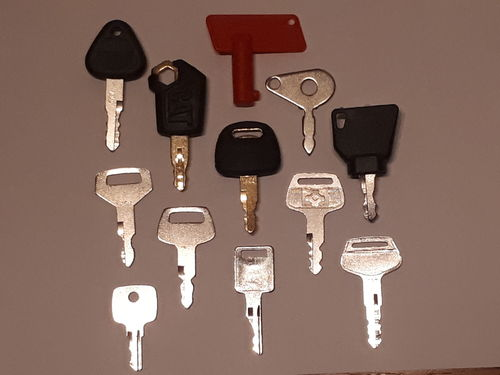 Set of Plant and Agricultural Keys - 12